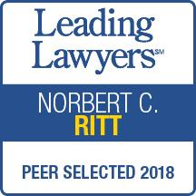 Leading Lawyers Peer Selected 2018
