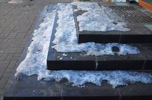 Obtaining Compensation When Icy Store Sidewalks Cause Broken Bones